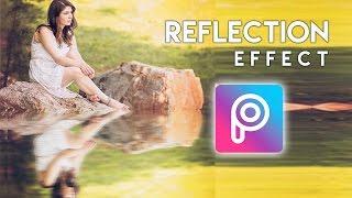 Cara Edit Efek Pantulan Objek di Picsart Android dan iOS | Tutorial