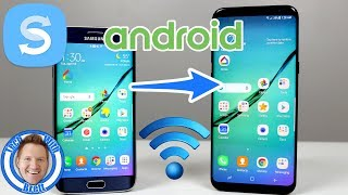 Wireless Smart Switch Transfer to Samsung Galaxy S8 (2017)