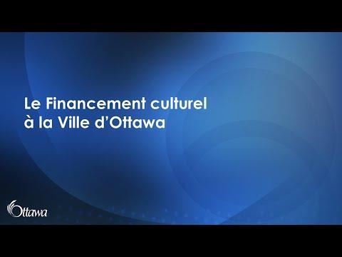Présentation de la Section du soutien au financement culturel