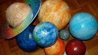 Папье маше. Планеты солнечной системы своими руками