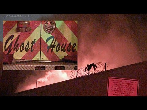 Raw video: Strip mall fire in Calif.