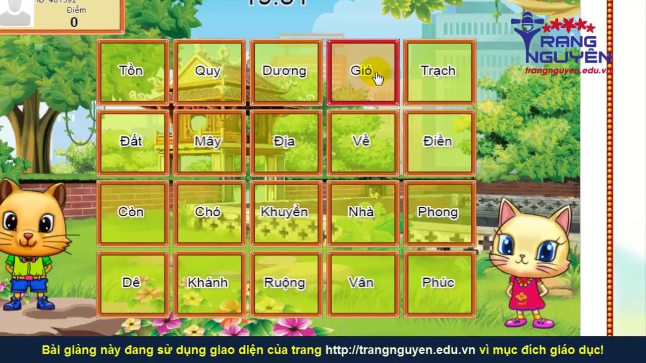 Thi Trạng Nguyên Tiếng Việt Lớp 5 Vòng 18 | Trạng Nguyên Tiếng Việt 2018