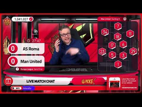 GOLDBRIDGE Best Bits | Roma 3-2 Man United | Europa League Semi Final
