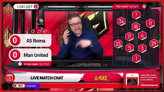 GOLDBRIDGE Best Bits | Roma 3-2 Man United | Europa League Semi Final