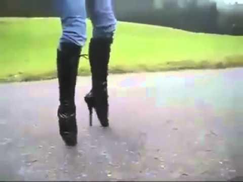 женские Brubeck девушка на каблуках ржака время интенсивного потоотделения