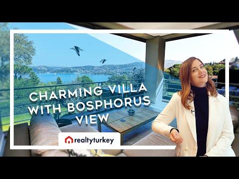 Luxury Real Estate Tour in Istanbul Turkey: Çubuklu Seaside Villa
