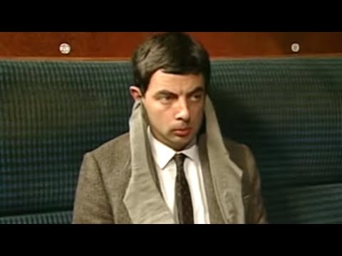 Noisy Train | Funny Clips | Mr Bean Official