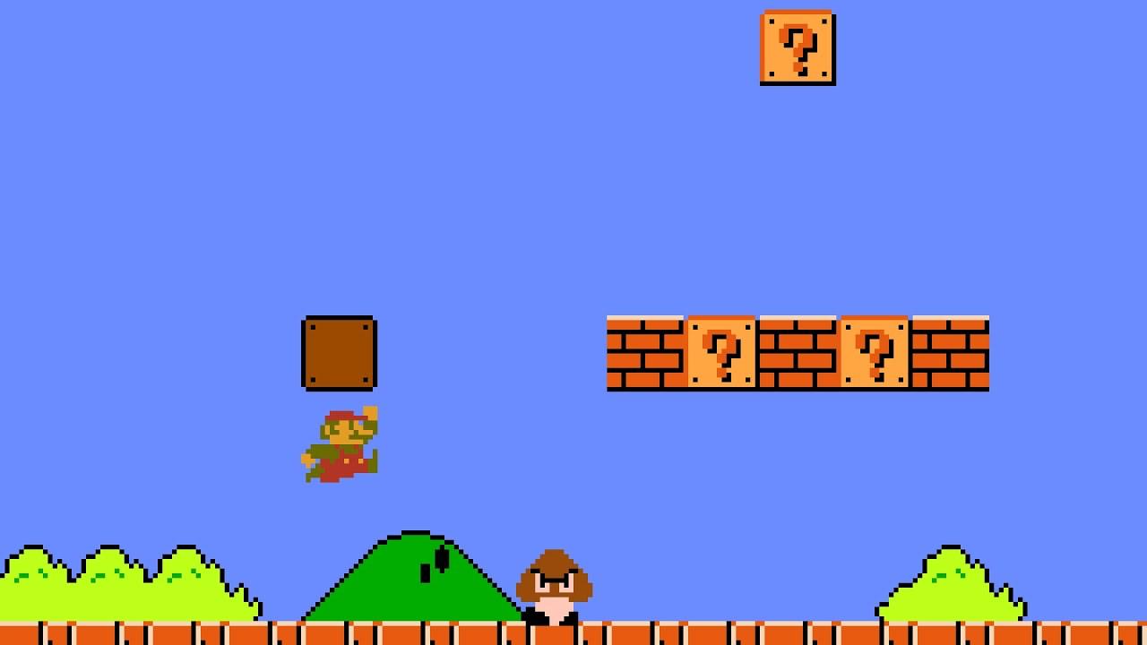 Super Mario Bros. Deluxe Level 1-1 ( In 2 Attempts) - YouTube
