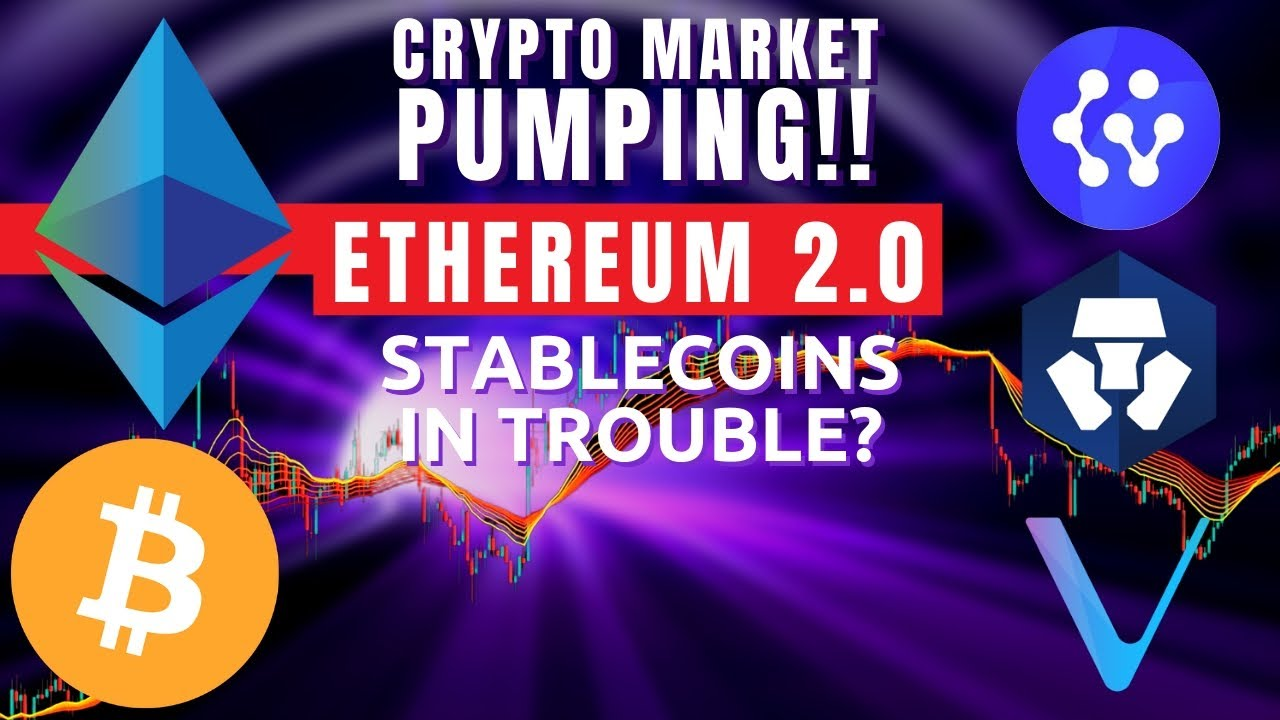 BITCOIN IS PUMPING!! Ethereum 2.0 Official Release? Cybervein CVT Review | Crypto.com Vechain
