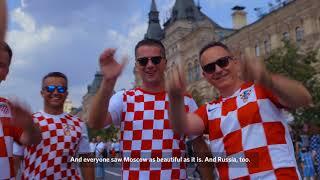 Мощная поддержка хорватских болельщиков