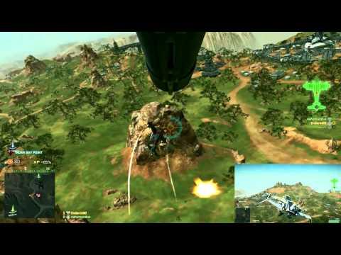 Planetside 2 - Liberator Run 2 - Merged Views