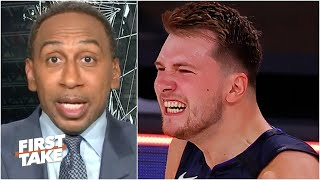 Stephen A. reacts to Doncic's game-winning shot: Luka is the truth! | First Take