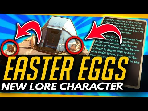 Overwatch | NEW LORE CHARACTER?! + LIOS CONNECTION - Petra Map Easter Eggs