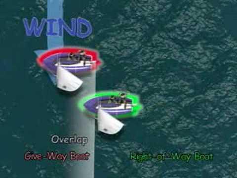 ISAF Rule 12 Overtaking to Leeward -Part 12