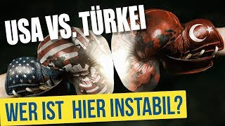USA vs. Türkei: Wer ist hier instabil?