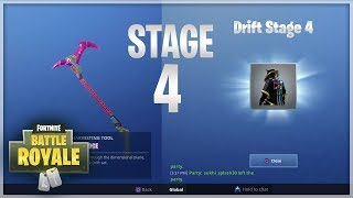 "I Unlocked ""Drift"" Stage 4 in Fortnite Battle Royale + ""Rift Edge"" Pickaxe"