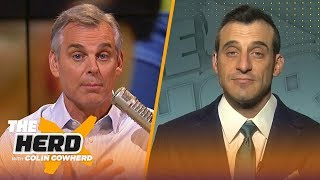 The best chance for Brady to win is with Patriots, talks Astros  Doug Gottlieb | THE HERD