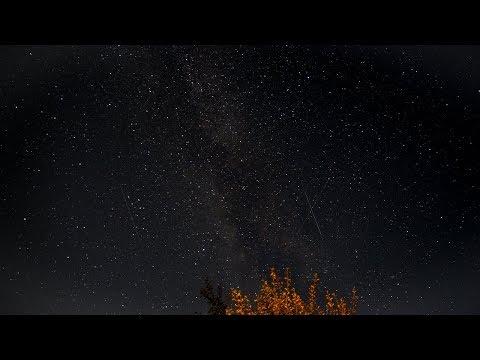 Perseid Meteor Shower 2017 Timelapse