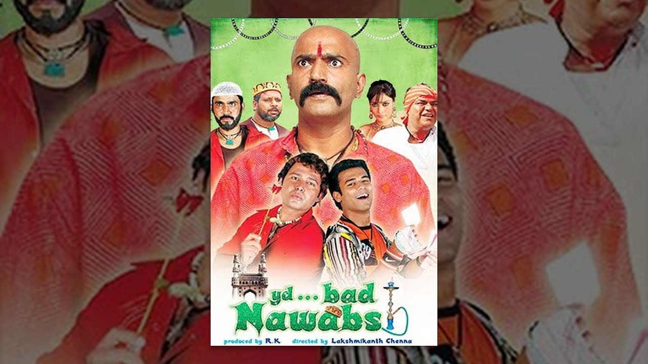 Download Hyderabad Nawabs (ह्यदएरबाद नवाब्स ) Full Movie - Aziz Nasar, Masti Ali