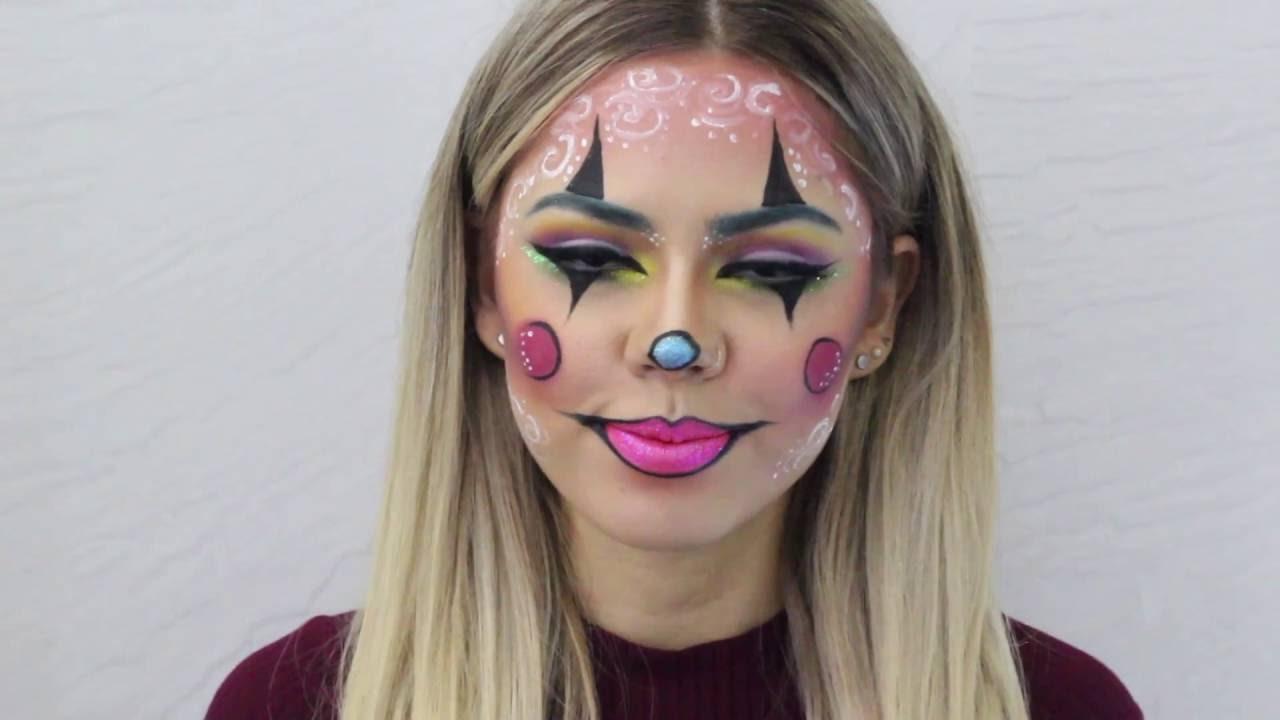 maquillaje payasita