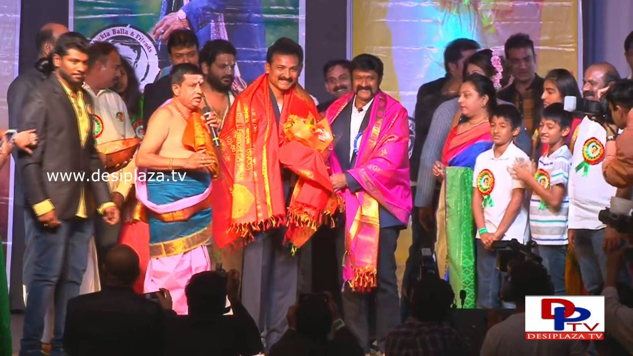 Balayya Felicitated at his Birthday in California