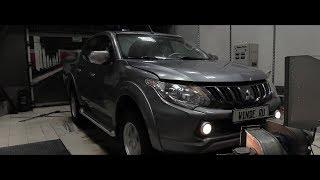 Збільшення потужності Mitsubishi L200 new 2.4 d 154 к. с. Огляд налаштування на стенді