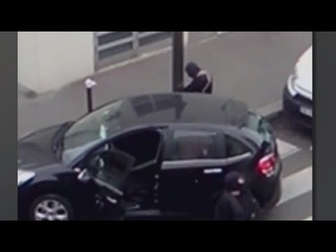 New video puportedly shows Kouachi brothers after attack