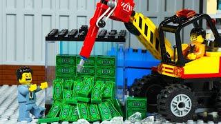 Lego City DESTROY The Unbreakable Big Money BOX, Win $ 1.000,000!