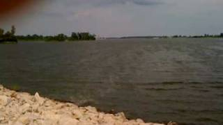 Mississippi River backwater near Alton IL