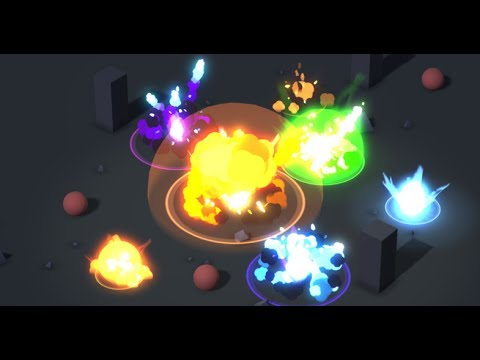 unity asset store pack stylised cartoon particle explosion pack