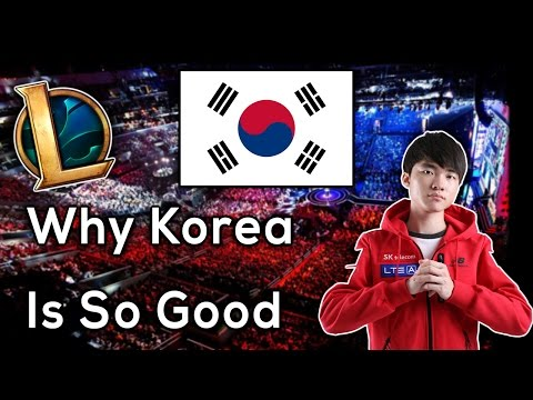 What Exactly Makes Korea So Much Better Than Other Regions