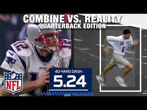 Combine vs. Reality: Tom Brady, Dak Prescott, Aaron Rodgers & Tim Tebow | NFL NOW