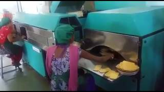 How Khakhra's are made in Khakhra Making Machine