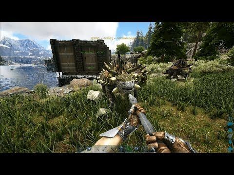 Ark:Survival Evolved (official) / Анкилозавр и Дедикурус [6]