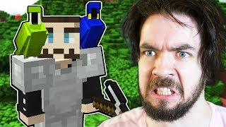 The CRAZIEST Rescue Mission Ever In Minecraft