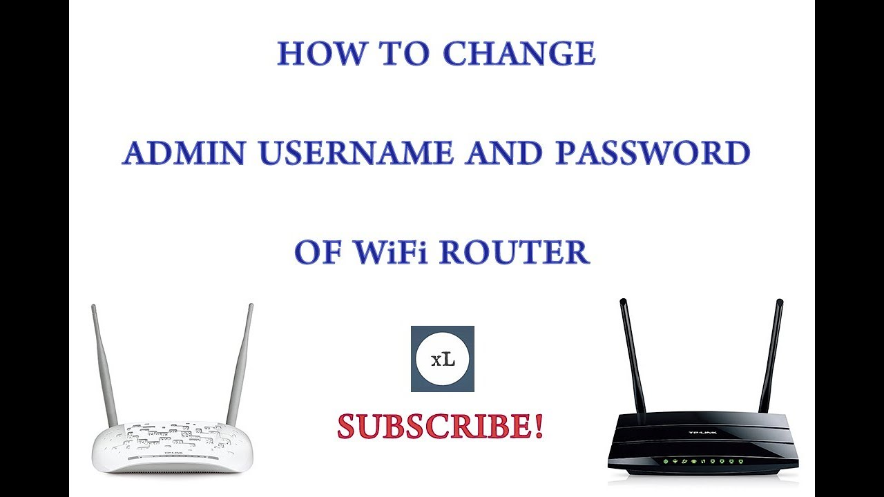 How To Change Admin Username & Password Of WiFi Router
