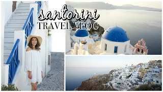 Santorini Greece || Travel Diary