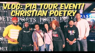 ⏩Vlog:Poets in Autumn 2018 || PIA Tour (Christian Poet Event!)