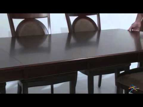 Steve Silver Montblanc 9 Piece Dining Set - Product Review Video