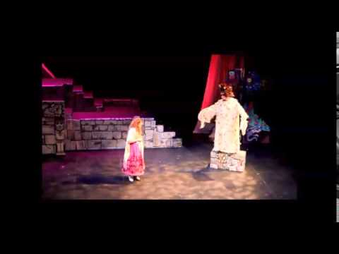 Wizard scenes Bear Prince - jazz-opera clips from 2015 production