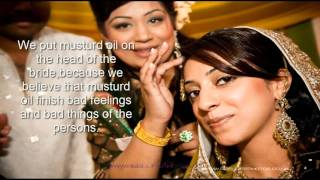 pakistani wedding traditions explained in english with pictures(Ubtan till mehndi ceremony) part 1