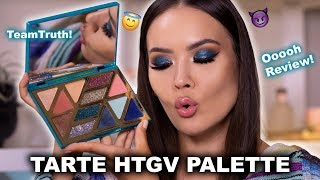 TARTE HIGH TIDES & GOOD VIBES - FULL REVIEW + SWATCHES | Maryam Maquillage