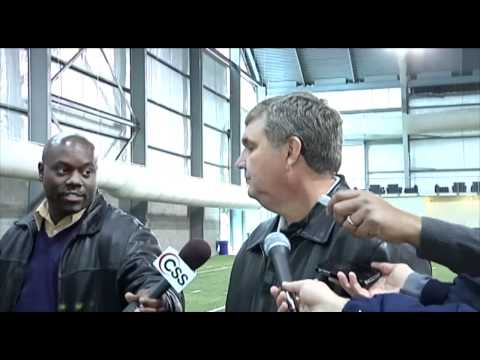 Georgia Tech Pro Day Interview with Stephen Hill - 3/6/12