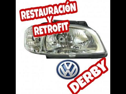 Restauración Luces Volkswagen Derby