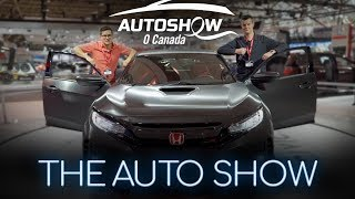 Toronto Auto Show 2017 - Yuri and Jakub Go For Drive... At the Auto Show