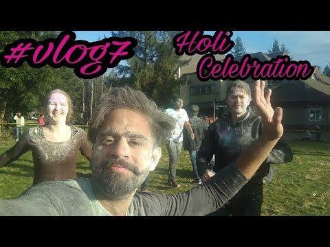 HOLI CELEBRATION AT NORTH ISLAND COLLEGE,CANADA(vlog-7) HD