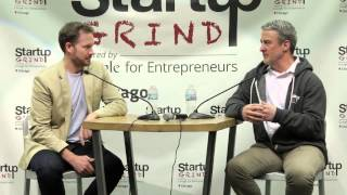 Bryan Johnson (Braintree & OS Fund) at Startup Grind Chicago