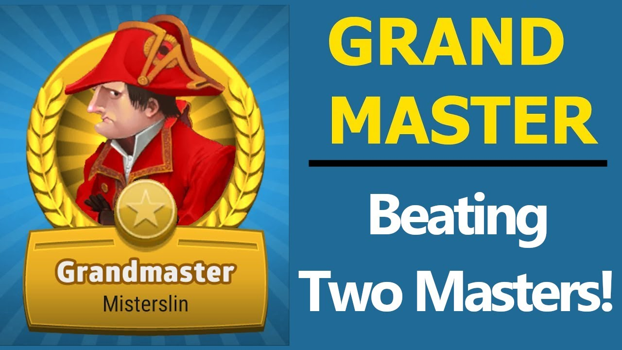 Beating 2 Masters! (Risk: Global Domination)