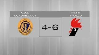 La Liga K | A.D.L. Cuadrilla CT 4:6 Petti i Pollu | Giornata 3