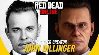 JOHN DILLINGER: Character Creator (Legendary Gangster) RDR2